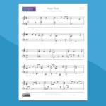 Moon River - Spartito gratis per Pianoforte
