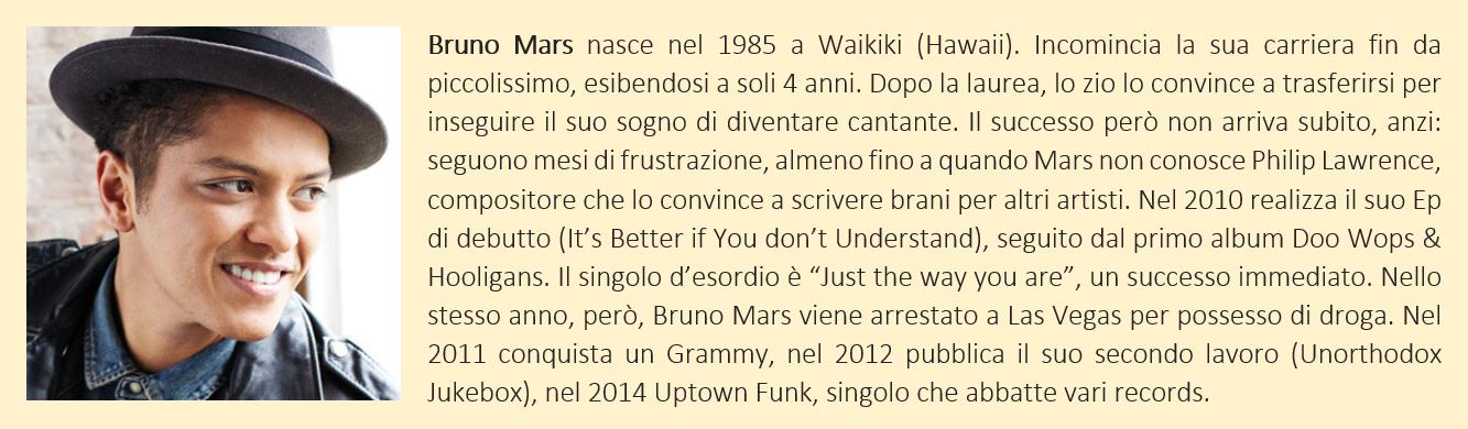 Bruno Mars - biografia breve