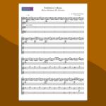 forbidden colours di sakamoto - spartito gratis per ensemble di chitarre