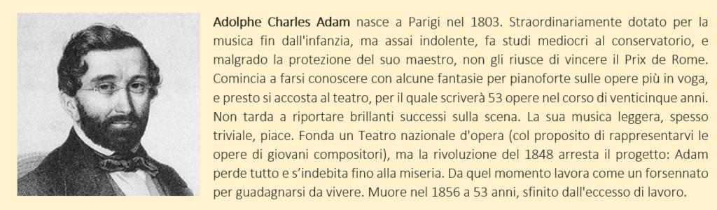 Adam, Adolphe - biografia breve