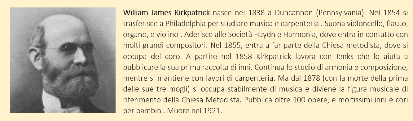Kirkpatrick, William James - biografia breve