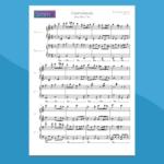 Greensleeves - Spartito per Pianoforte a 4 mani
