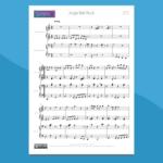 Jingle Bell Rock - Spartito per Pianoforte a 4 Mani