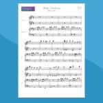White Christmas - Spartito per Pianoforte a 4 Mani