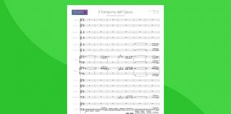 Il Fantasma dell'Opera - Partitura per Orchestra Scolastica