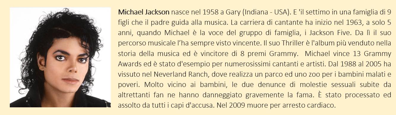 Michael Jackson - Biografia Breve