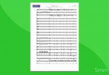 Adiemus - Partitura per Orchestra Scolastica