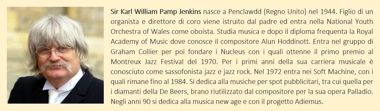 Jenkins, Karl: biografia breve