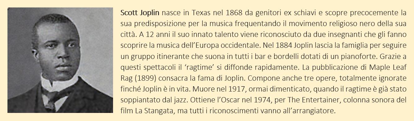 Joplin, Scott - biografia breve