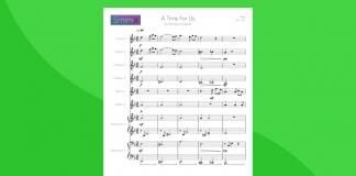A Time for Us - Partitura per Orchestra Scolastica