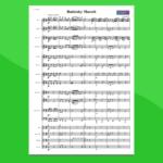 Marcia Radetzky - Partitura per Orchestra Scolastica