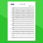 Viva la Vida - Partitura per Orchestra Scolastica
