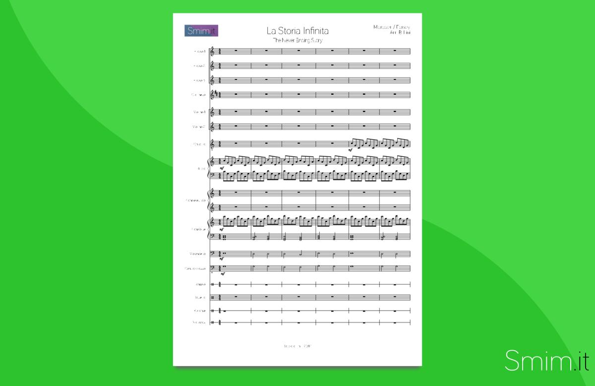La Storia Infinita   Partitura gratis per orchestra scolastica