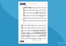 Toccata e Fuga in Re Minore | Spartito gratis per Pianoforte a 6 Mani