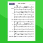 Torna a Surriento | Partitura gratis per orchestra scolastica