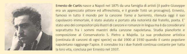 De Curtis, Ernesto - Biografia Breve