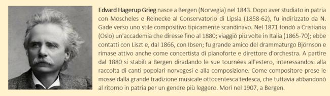 grieg - biografia