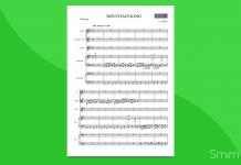 Nell'Antro del Re della Montagna | Partitura gratis per Orchestra Scolastica