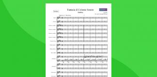 Fantasia di colonne sonore | Partitura gratis per orchestra scolastica