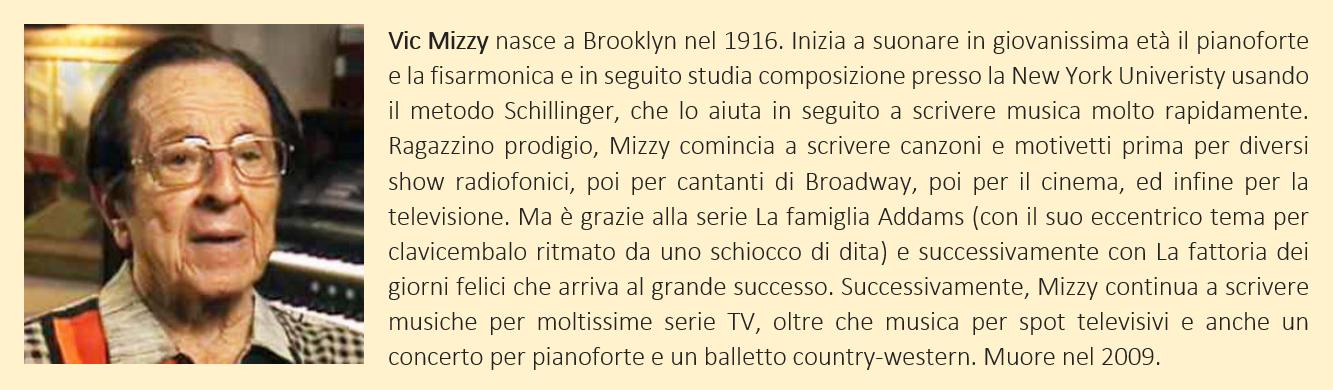 Mizzy, Vic - biografia breve