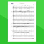 medley colonne sonore: piccoli brividi musicali | partitura gratis per orchestra scolastica