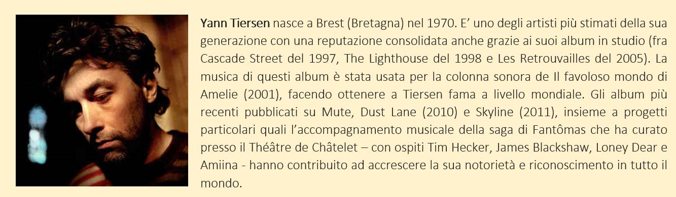 Tiersen, Yann - Biografia breve