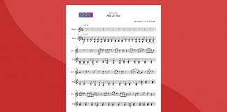 All of Me | Spartito gratis per flauto e pianoforte