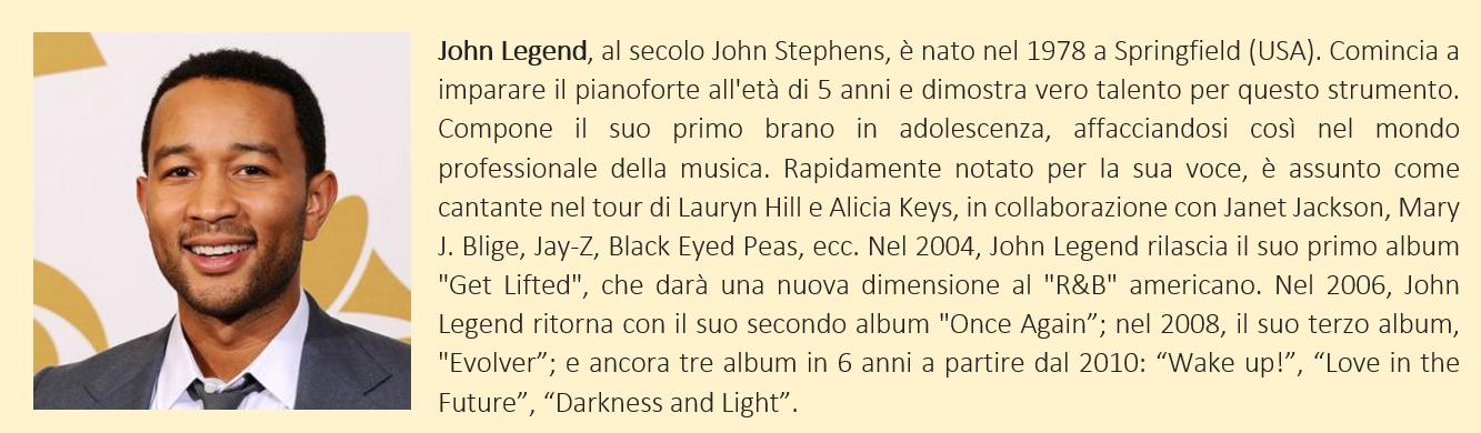 John Legend - biografia breve