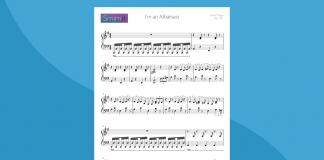 I'm an Albatraoz | Spartito gratis per pianoforte