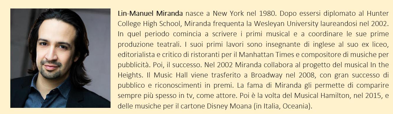 Lin-Manuel Miranda, biografia breve
