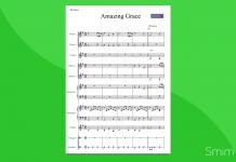 amazing grace | partitura gratis