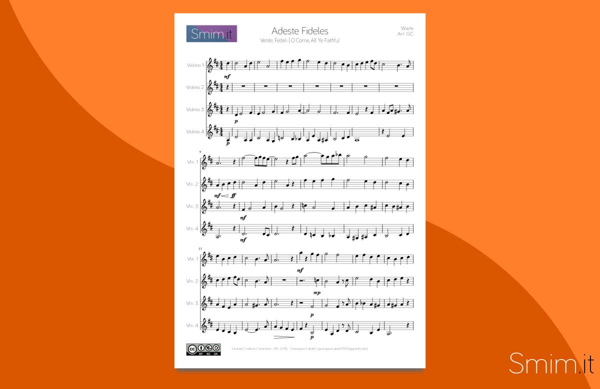 Favoloso Titanic - My Heart Will Go On (spartito per violino e pianoforte 4  DK14