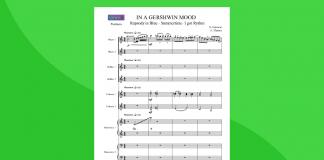 Gershwin Medley | partitura gratis
