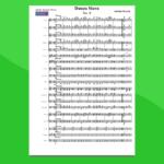 danza slava n.8 di dvorak | partitura gratis per orchestra scolastica