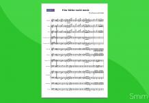 mozart - eine kleine nachtmusik | partitura gratis