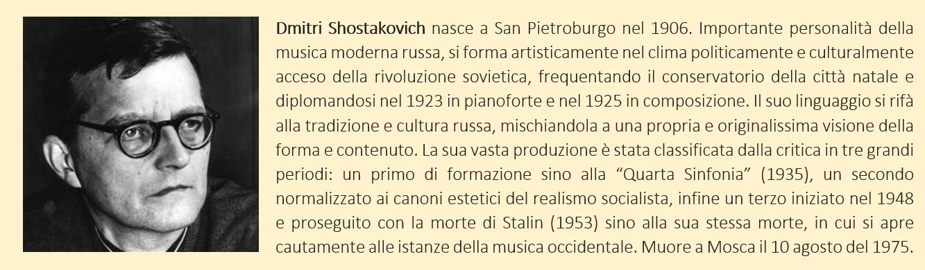 shostakovich - biografia breve