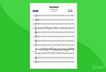 diatonicamente (maugeri) | partitura gratis per orchestra scolastica
