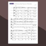 dvorak - sinfonia dal nuovo mondo | spartito per quartetto di clarinetti