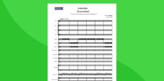 asturias di albeniz   partitura gratis per orchestra scolastica