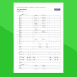 Va Pensiero   Partitura gratis per coro e orchestra scolastica