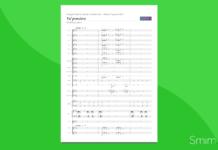 Va Pensiero | Partitura gratis per coro e orchestra scolastica