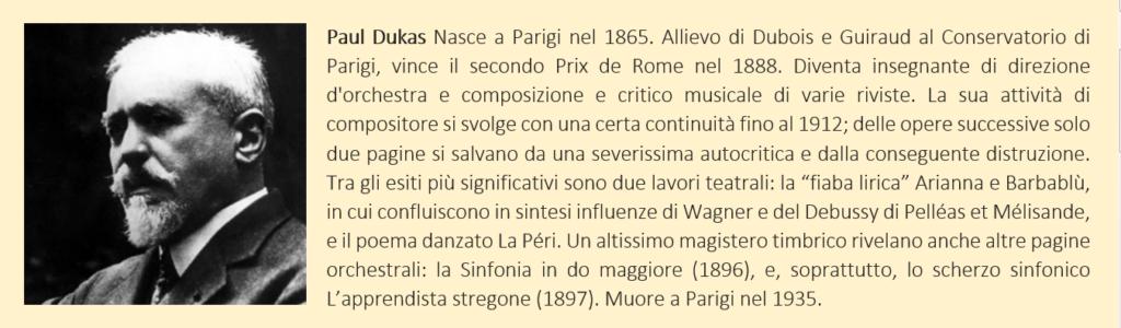 Paul Dukas - biografia breve