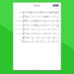 minuetto in sol di bach - partitura gratis per orchestra di scuola media ad indirizzo musicale smim