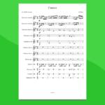 ouverture dalla carmen | partitura gratis per orchestra scolastica