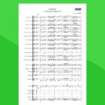Bizet - Suite Arlesienne - Farandole | Partitura gratis per orchestra scolastica
