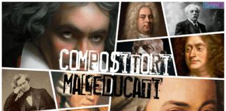 i compositori più maleducati di sempre