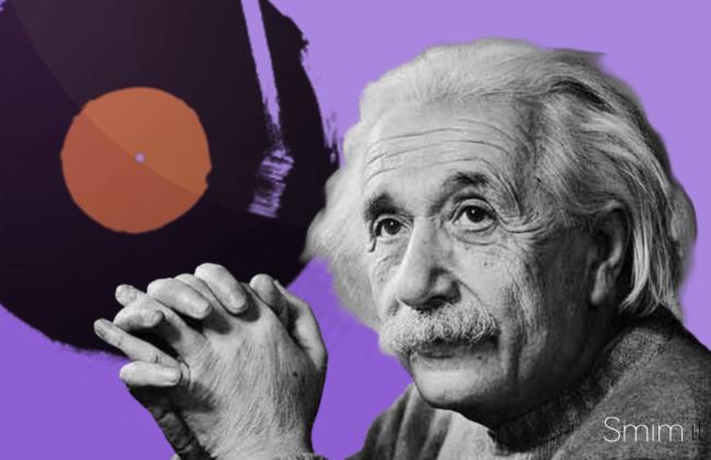 Einstein e la Musica: la registrazione rara