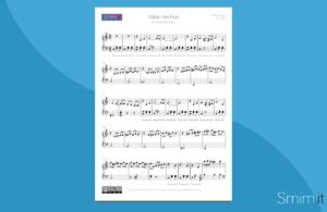 valzer dei fiori di tchaikovsky | spartito gratis per pianoforte