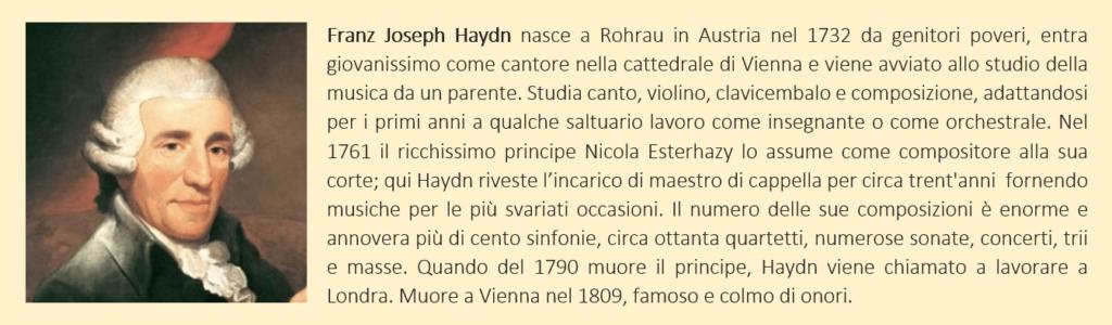 biografia breve di Franz Joseph Haydn
