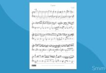 canone di pachelbel | spartito gratis per pianoforte